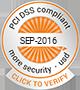 PCI-DSS-Kreditkartensiegel