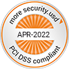 PCI Data Security Standard approved certification seal