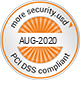 PCI DSS compliance Seal