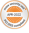 PCI DSS compliant - more security - usd