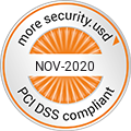 PCI DSS Compliance Seal November 2019