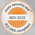 PCI DSS Compliance Seal November 2019