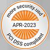 Partner Logo - Sicherheitsstandard der Kreditkartenindustrie